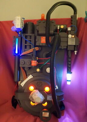 Ghostbusters Spirit Halloween Exclusive Light Up Proton Pack Ghost Trap W/ Sound