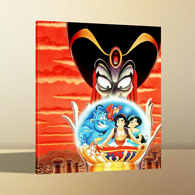 HD Canvas Print Home Wall Art Decor Painting Disney Aladdin 2 Return Jafar 12x16