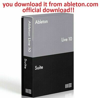Ableton Live 10.1 Suite used