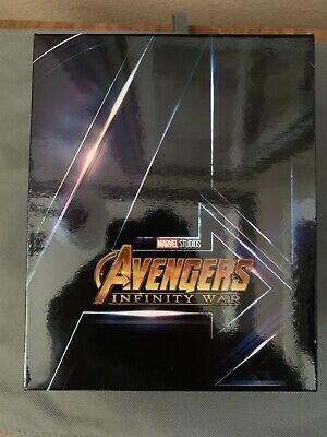 Blufans One Click Steelbook Storage Box For Avengers Infinity War Box/cards only