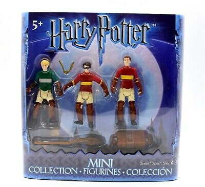 Harry Potter Mini Figurine Collection Series 2 - Harry, Draco Malfoy & Oliver
