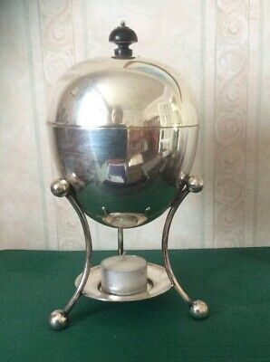 Victorian Silver Plated Egg Coddler/warmer