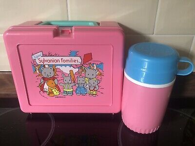 Sylvanian Families Bluebird Retro Lunchbox And Flask 1981 Lunch Box