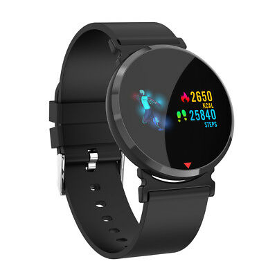 Smart Watch Sports Heart Rate Blood Pressure Monitor Waterproof  for iOS Android
