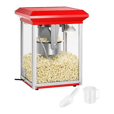 Popcorn Machine  Cinema Style Commercial Popcorn Maker 1325 Watt 8 Oz Teflon