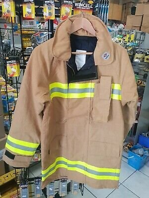 firefighter jacket with paints X large