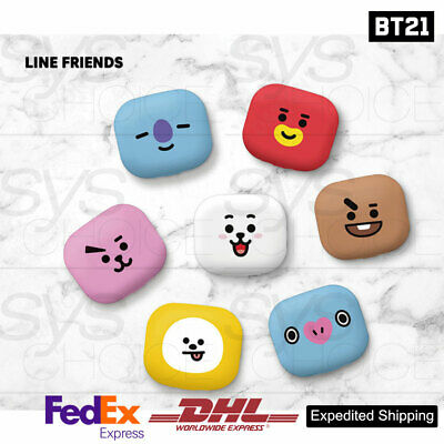 BTS BT21 Official Authentic Goods Portable toothbrush sterilizer + Express Ship