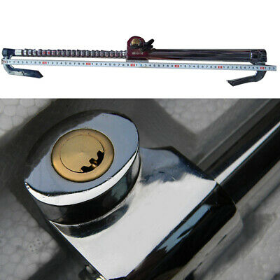 Car Extendable Double Hook Steering Wheel Lock Anti Theft Brake Clutch Security