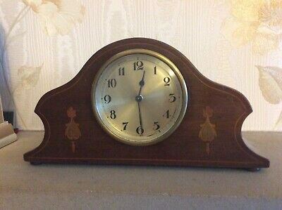 mantel clock with French movement for spares or repair
