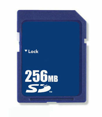 10pcs 256MB SD Memory Card Standard Secure Digital Generic Brand Wholesale Blue
