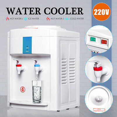 Water Cooler Dispenser Filter Purifier Hot Cold Ice Water Taste Floor Stand 220V