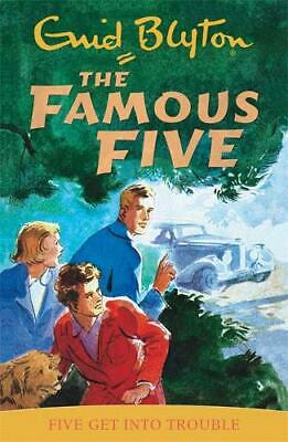 Five Get into Trouble (Famous Five), 0340681136, Enid Blyton, New Book