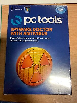 PC Tools Spyware Dr with Antivirus 2012 - 1 User