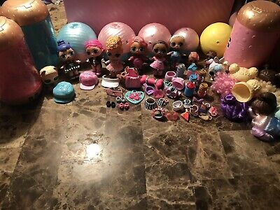 LOL Doll Surprise Lot With Acessories Big Surprise Eye Spy  (read description)