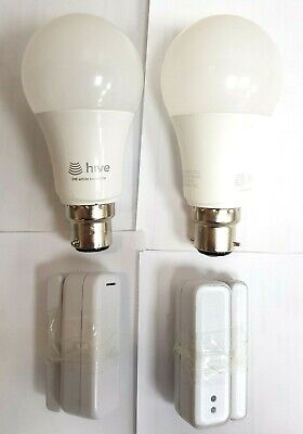 2 hive bulbs with 2 sensors