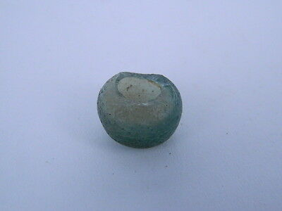 Ancient Glass Bottle Islamic 1000 AD  No Reserve #GS207
