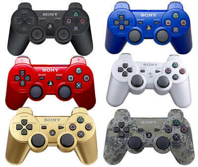 PS3 Playstation 3 Bluetooth Wireless Dualshock 3 SIXAXIS Controller for SONY