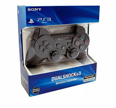 Official Sony PlayStation 3 PS3 DualShock 3 Wireless SixAxis Controller Black