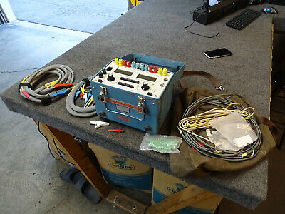Dranetz Power System Poly Meter Model 325 Test leads