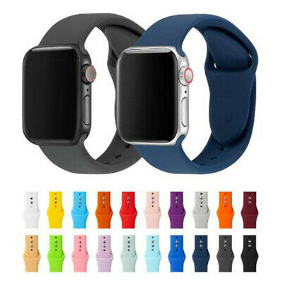 Cinturino per APPLE WATCH IWATCH in Silicone High Quality 38 40 mm 42 44 mm