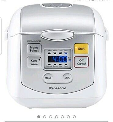 Panasonic Rice Cooker & Multi-Cooker 4-Cup (Uncooked)  & user manual MINT CONDIT