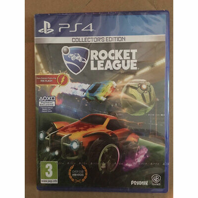 Rocket League Collectors Edition (PS4) New and Sealed