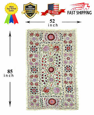Silk Original Handmade Embroidery Uzbek Wall Hanging Suzani SALE WAS $999.00