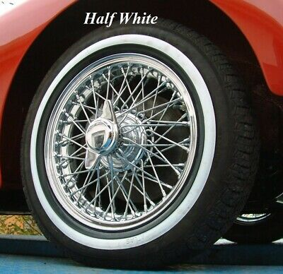 New  White Wall Tyre Inserts for classic and vintage cars
