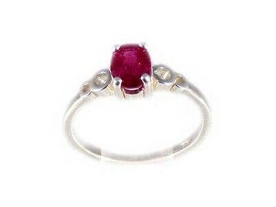 Ruby Ring 1¼ct Antique 19thC Blood Red Medieval Lord of Gems True Love Talisman