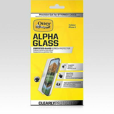 OtterBox Alpha Glass Clarity Screen Protector Fortified Glass for iPhone XXS