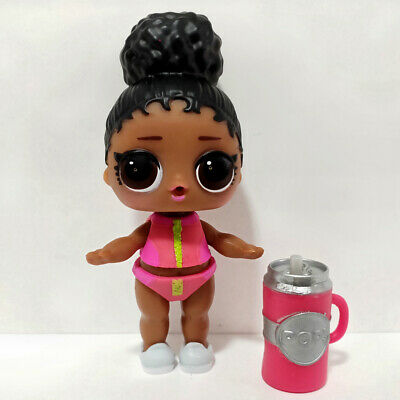 lol doll Big Sister Series 3-019 Black Hair DIY Red Bikini Dress Girls Gift