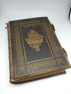 Holy Scriptures Henry & Scott - Enormous Bible with Brass Clips William Collins