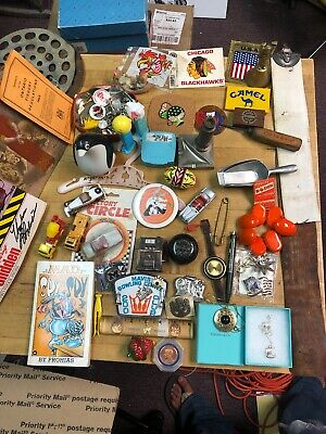 Junk Drawer Lot Vintage Jewelry,Watches,Coins