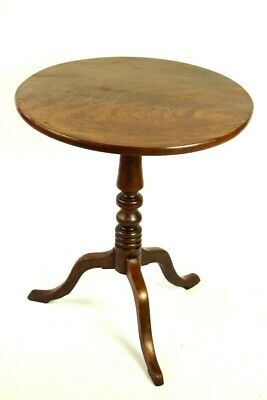 Antique Georgian III Mahogany Tilt Top Table [5460]
