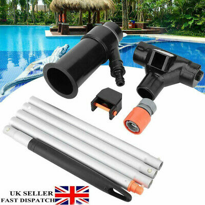 Swimming Pool Jet Vacuum Cleaner Vac Hoover Clean Maintenance Cleaning Suction