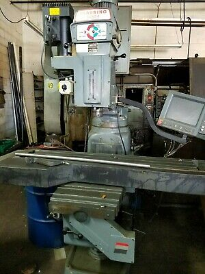 CLAUSING KONDIA FV-1 Bridgeport Style 3-Axis CNC Mill with