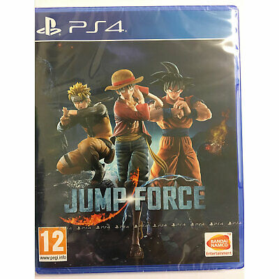 Jump Force PS4 New and Sealed