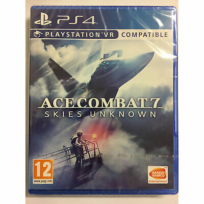 Ace Combat 7 Skies Unknown PS4 VR COMPATIBLE New and Sealed