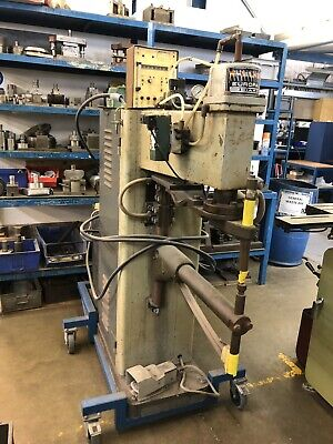 Used Spot Welder - Refurbished by Sciaky, movable trolley, with cooler system