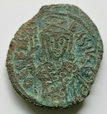 Byzantine Empire Coinage of Theophilus  AE 9.08gr;30mm  Follis. 830-842 AD.