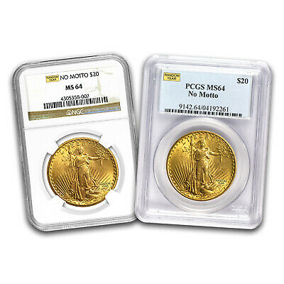 SPECIAL PRICE! $20 Saint Gold Double Eagle MS-64 NGC/ PCGS (Random)