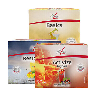FitLine Optimal Set by PM International - Basics, Activize & Restorate