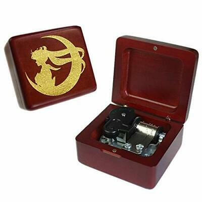 Youtang Music box 18 Note Windup Clockwork Mechanism Engraved Wood Music Box for Kids,Play c,Brown Baby Products
