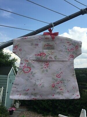 Cath Kidston London Original Trailing Flowers Pink Peg Bag Vintage Home & Garden