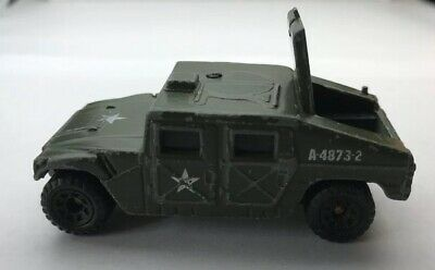 Matchbox Toy 1:64 Green Army Hummer 1994 Humvee