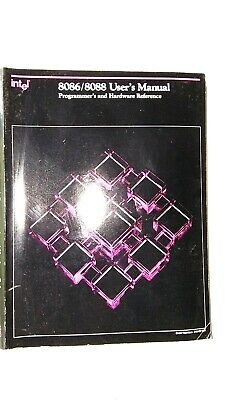 Intel 8086/88 Users Manual Programmers and Hardware Reference 1989  Databook