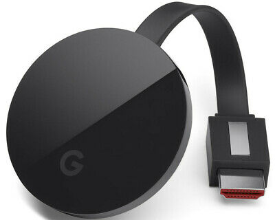 Google Chromecast Ultra 4K UHD Streaming Media Player