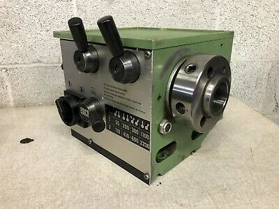 Emco Maximat Super 11 Lathe Complete Headstock Assembly D1-4