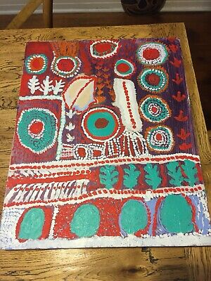 Aboriginal Painting By Kitty Richards