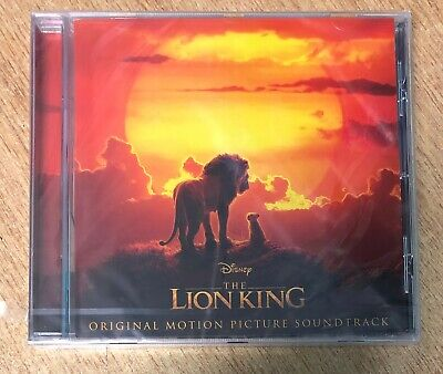 Disney The Lion King Soundtrack Cd Genuine Uk Version Latest New And Sealed